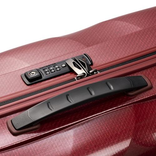 ジッパータイプのスーツケース