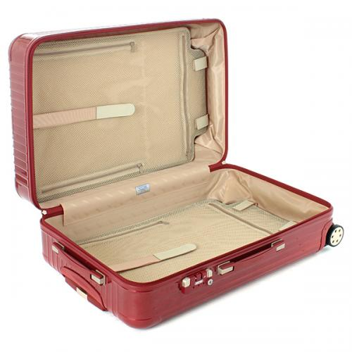 間仕切りシートマジックテープ式スーツケース