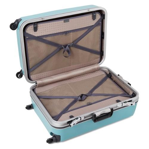 クロスベルトのスーツケース