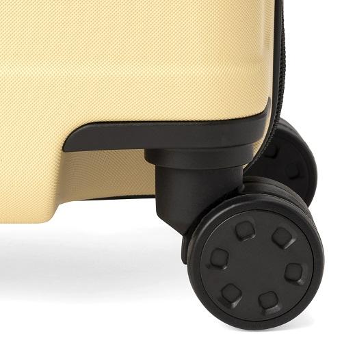 ダブルキャスターのスーツケース
