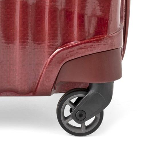 シングルキャスターのスーツケース
