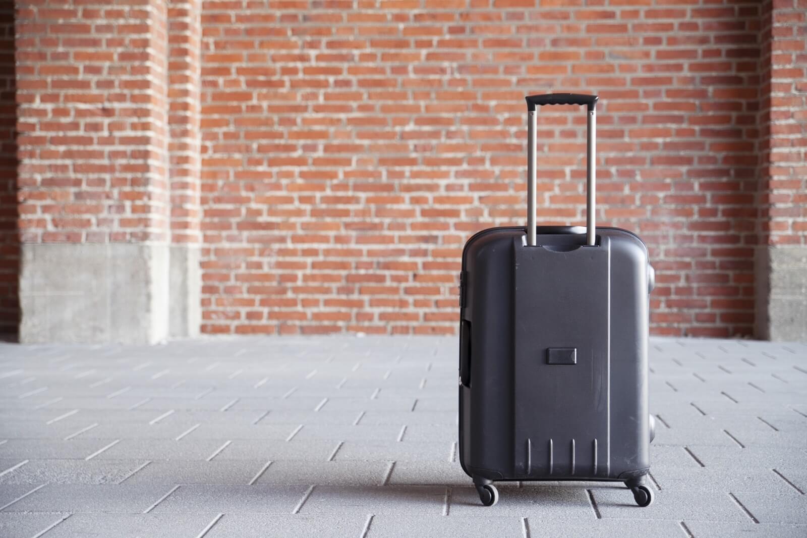 スーツケースの伸縮ハンドル