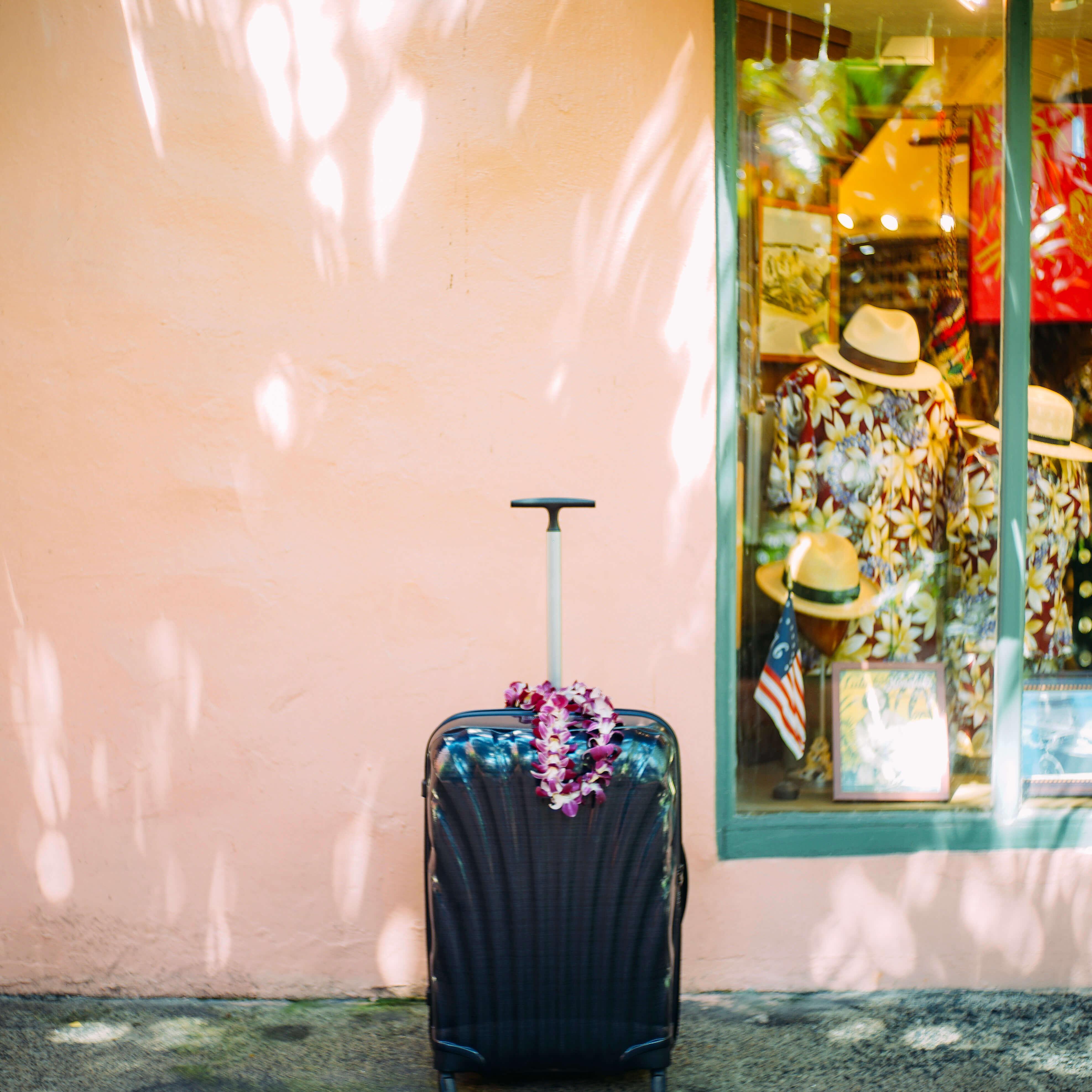ファッションアイテムとしてのスーツケース