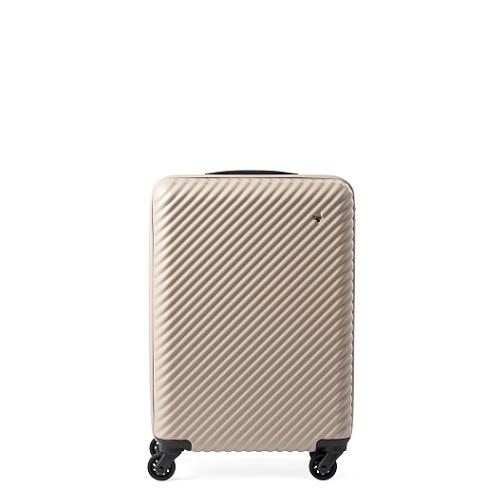 ベージュのスーツケース