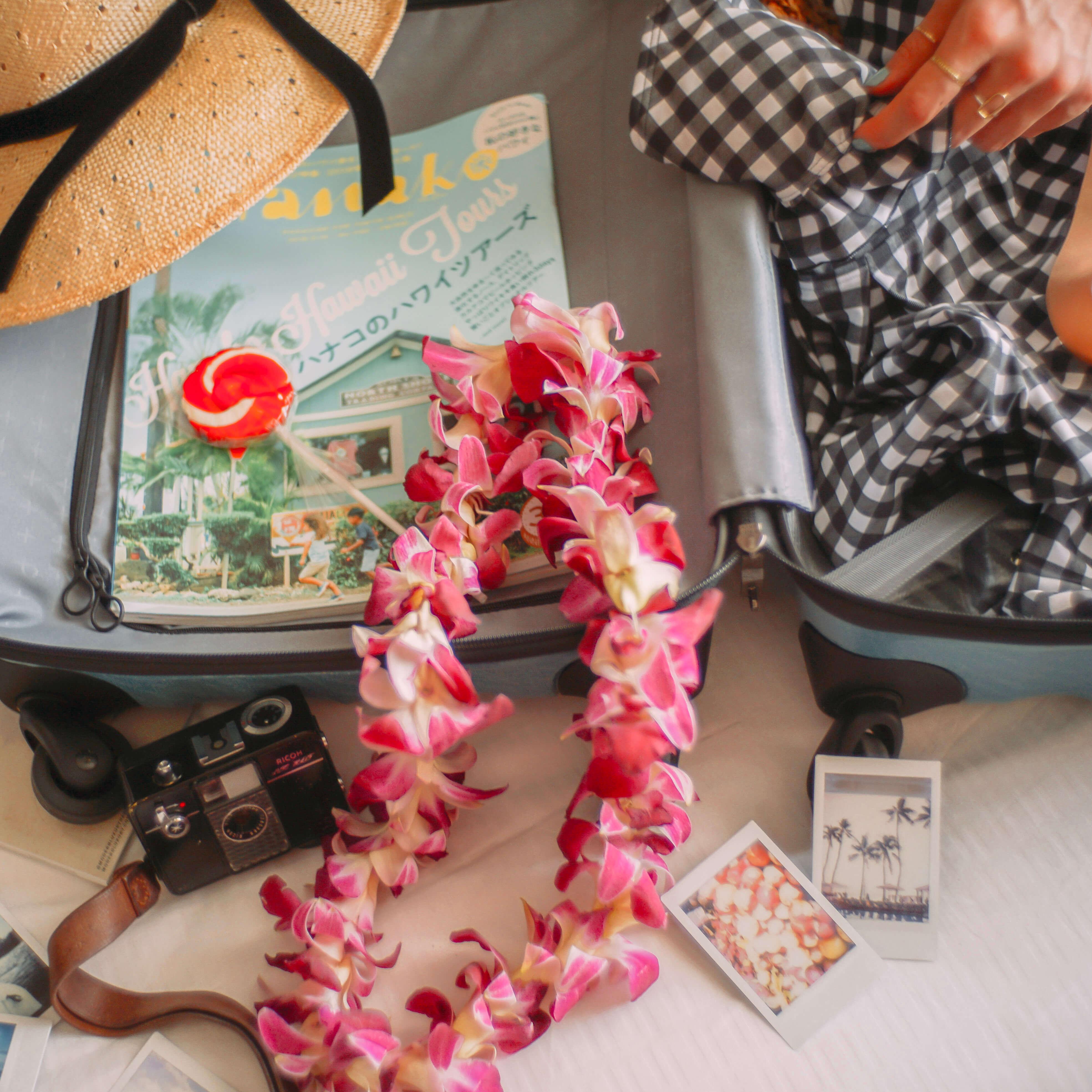ハワイ旅行の持ち物