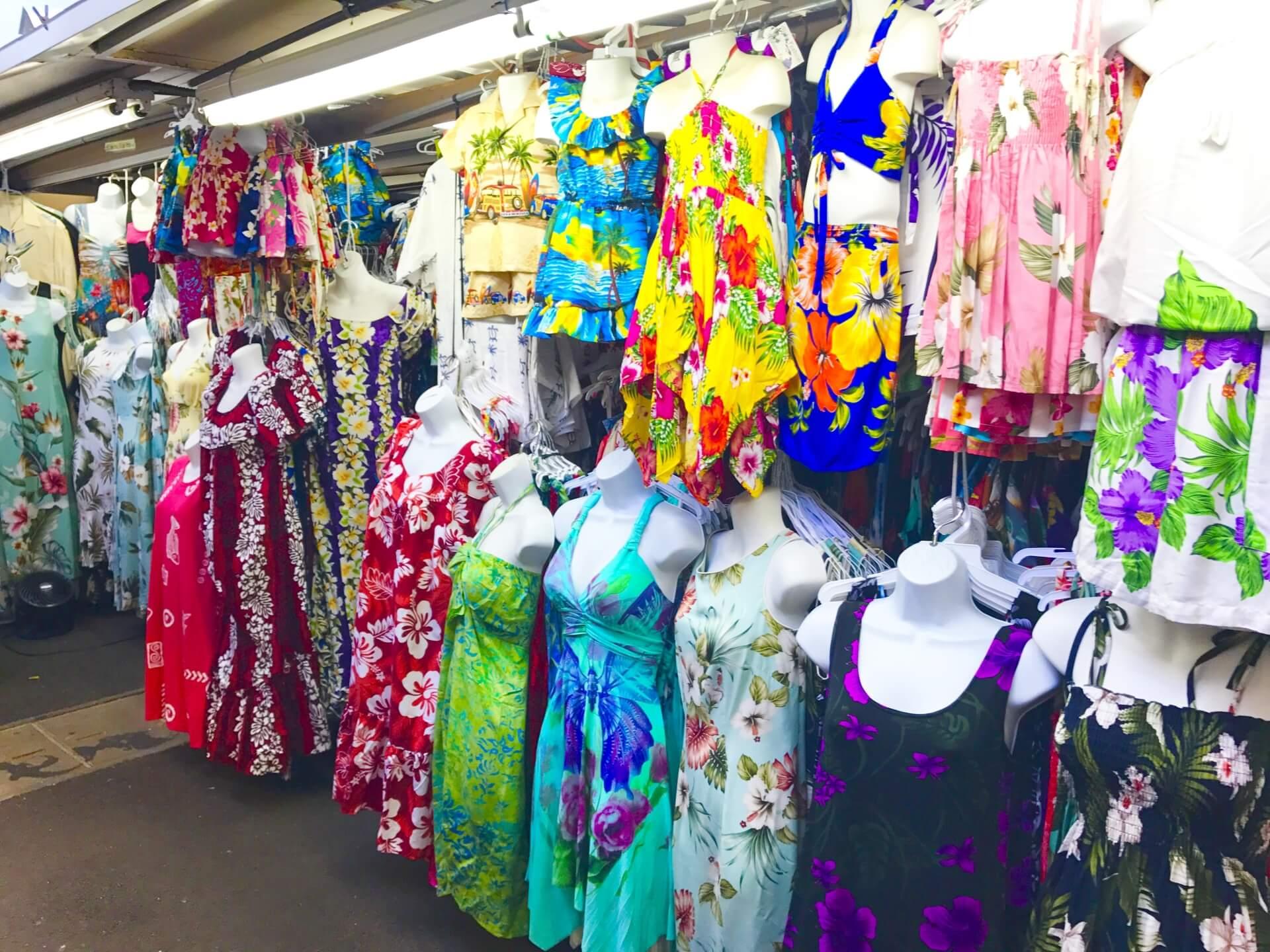 ハワイのファッションアイテム