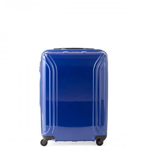 青いスーツケース