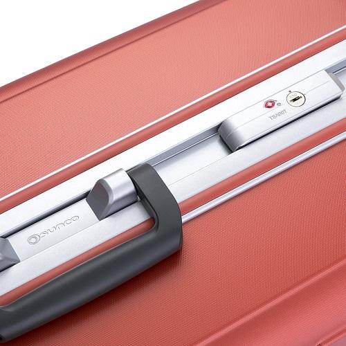 フレームタイプのスーツケース