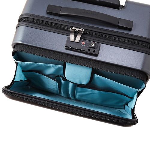 フロントオープンタイプのスーツケース
