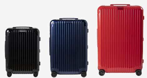 カラーバリエーションが豊富なスーツケース(リモワ エッセンシャル)