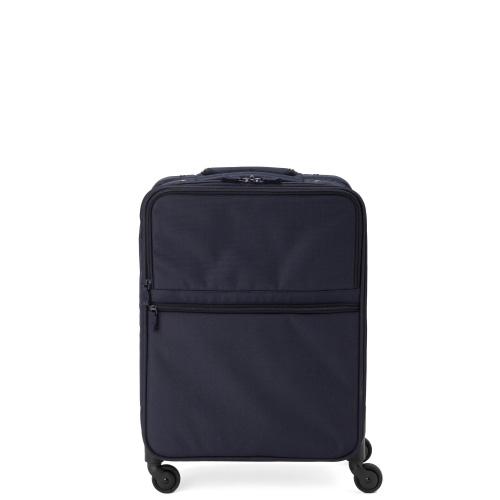 ソフトタイプのネイビーのスーツケース
