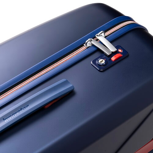 デザインにこだわりのあるスーツケース(ファスナー)