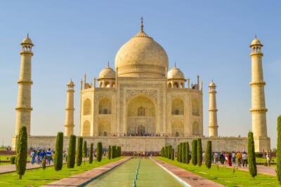 インドの黄色っぽいモスク