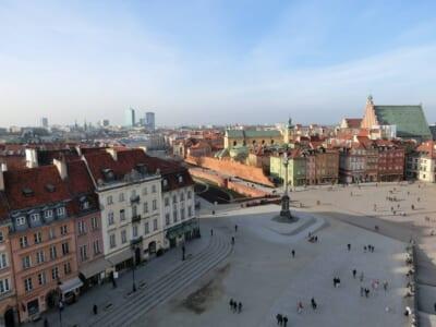 ポーランドの街並みと人々
