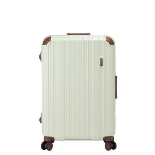 バーマス ヘリテージの淡いクリーム色のスーツケース