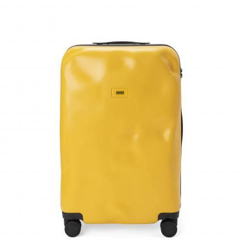 クラッシュバゲージ アイコンコレクション イエロー スーツケース