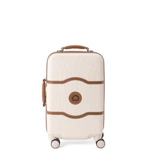 デルセー シャトレーハードプラスの淡いベージュのスーツケース