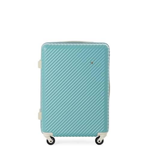 エース ハントマインの爽やかな水色のスーツケース