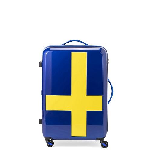 イノベーター ブルーイエロー スーツケース