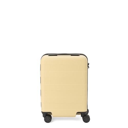 無印 ハードキャリー ライトイエロー スーツケース