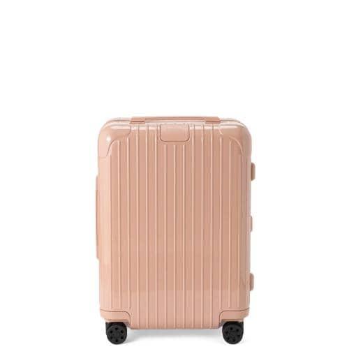 リモワ エッセンシャルのくすみピンクのスーツケース