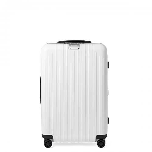 リモワ エッセンシャルライトのホワイトのスーツケース