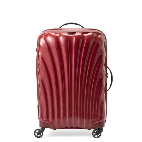 サムソナイト コスモライト レッド スーツケース