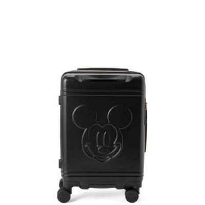 シフレ ハピタス ミッキーマウスフェイスのブラックボディのスーツケース