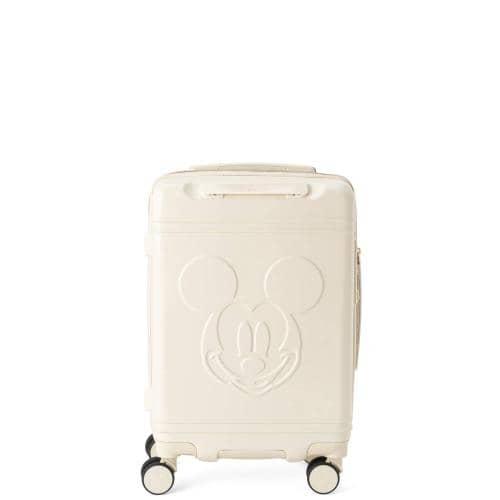 シフレ ハピタス ミッキーマウスフェイスホワイト スーツケース